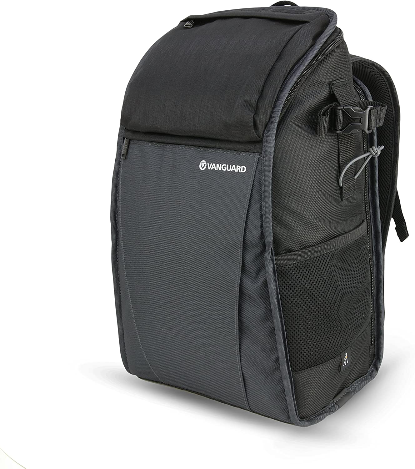 Black//Anthracite Vanguard Vesta Start 14Z Compact Bag in Nylon//Polyester