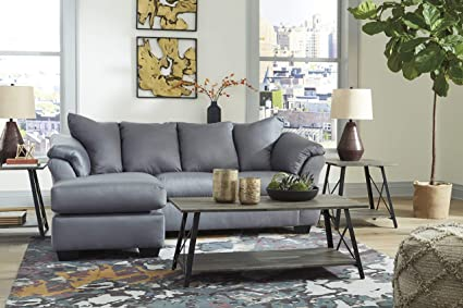 Amazon.com: Vratsa Contemporary Fabric Sofa Chaise: Kitchen & Dining