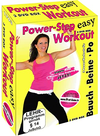 Power Step Workout, 3 DVDs: Amazon.co.uk: DVD & Blu ray