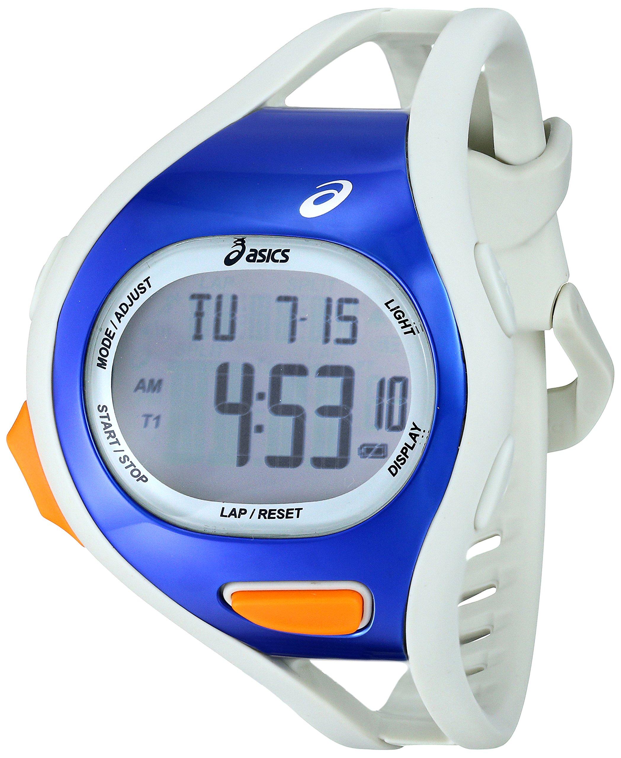 Asics Men's CQAR0703 Digital Display Quartz White Watch