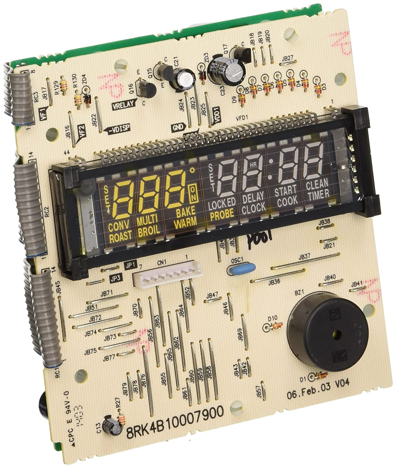 GE WB27T10500 General Electric Control Board
