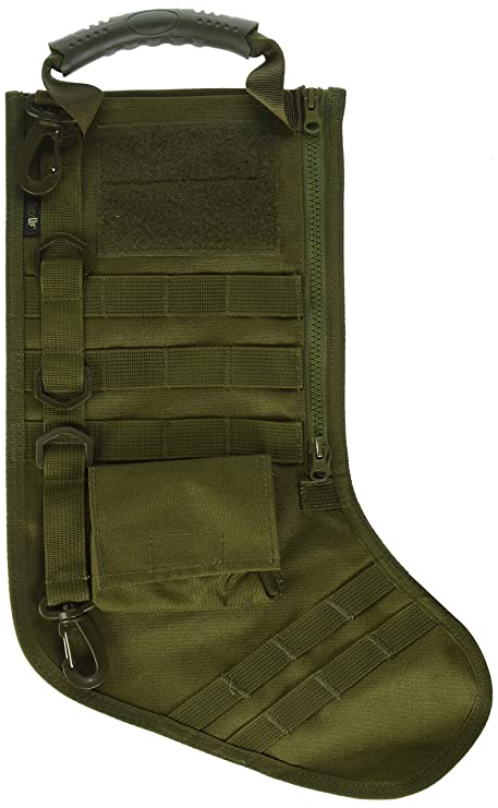 Tactical Christmas Stocking.Ruckup Tactical Christmas Stocking With Molle Gear In Od