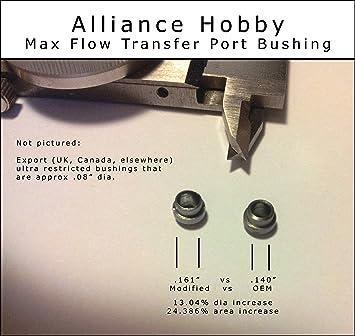 Crosman - 25% WIDER MAX FLOW - Transfer Port Bushing - Fits