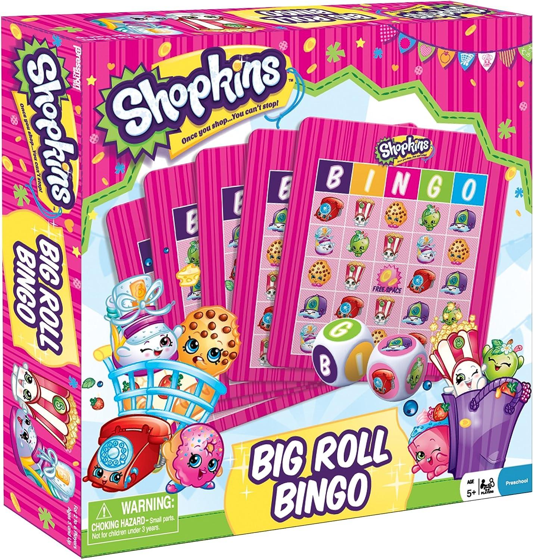Juego de Bingo infantil Shopkins para la familia: Amazon.es: Juguetes y juegos