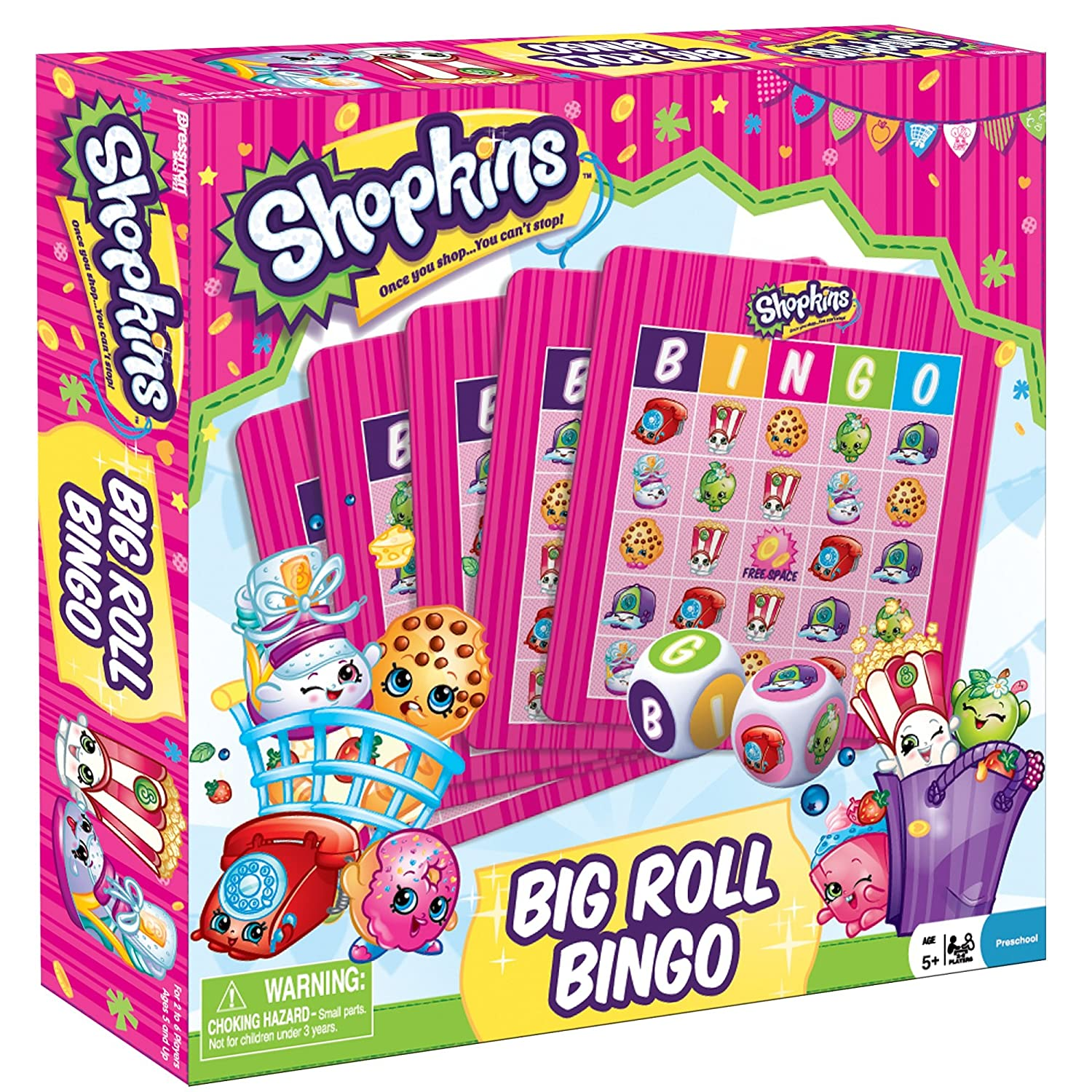 Shopkins Big Roll Bingo John Adams 4052-06