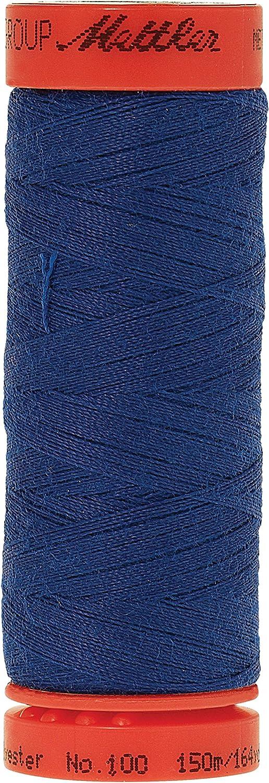 Mettler 9161-1303 Metrosene 100-Percent Core Spun Polyester Thread Royal Blue 165 yd
