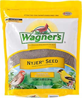 product image for Wagner's 62051 Nyjer Seed Wild Bird Food, 5-Pound Bag