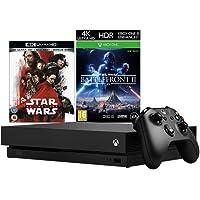 Xbox One X + Star Wars: The Last Jedi 4K UHD + Star Wars Battlefront 2 bundle
