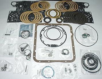 Global Transmisión Piezas gm 4l60e Transmisión Banner Rebuild Kit w/embrague Pistón Lip Sellado de corcho, Pan Junta: Amazon.es: Coche y moto