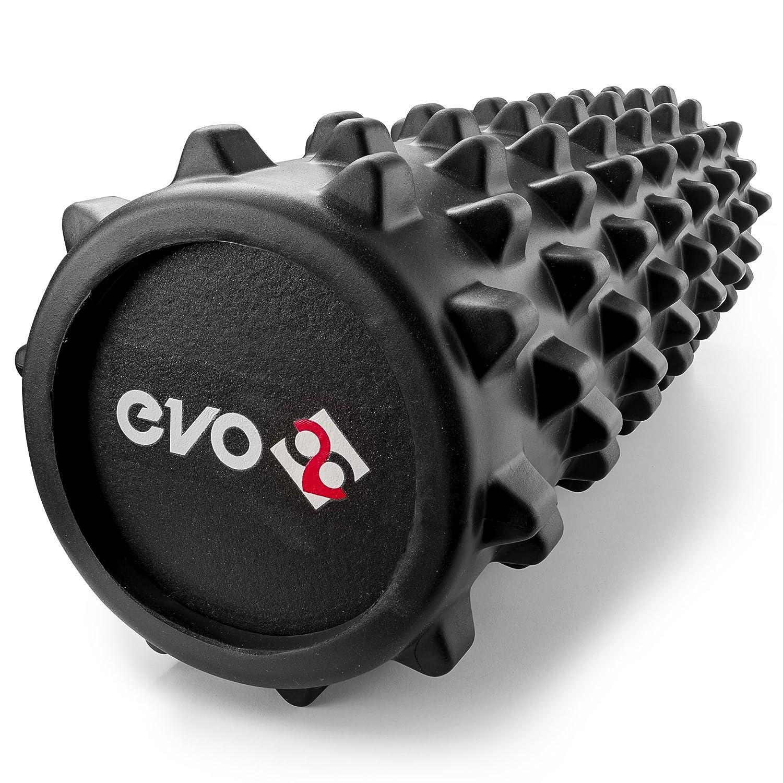 Rouleau Yoga Evo en mousse EVA pour les muscles et la r/é/éducation Rouleau Evo 28 en mousse pour masser les tissus en profondeur Rouleau de massage pour muscles dos et jambes