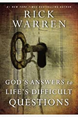 God's Answers to Life's Difficult Questions (Living with Purpose) Kindle Edition