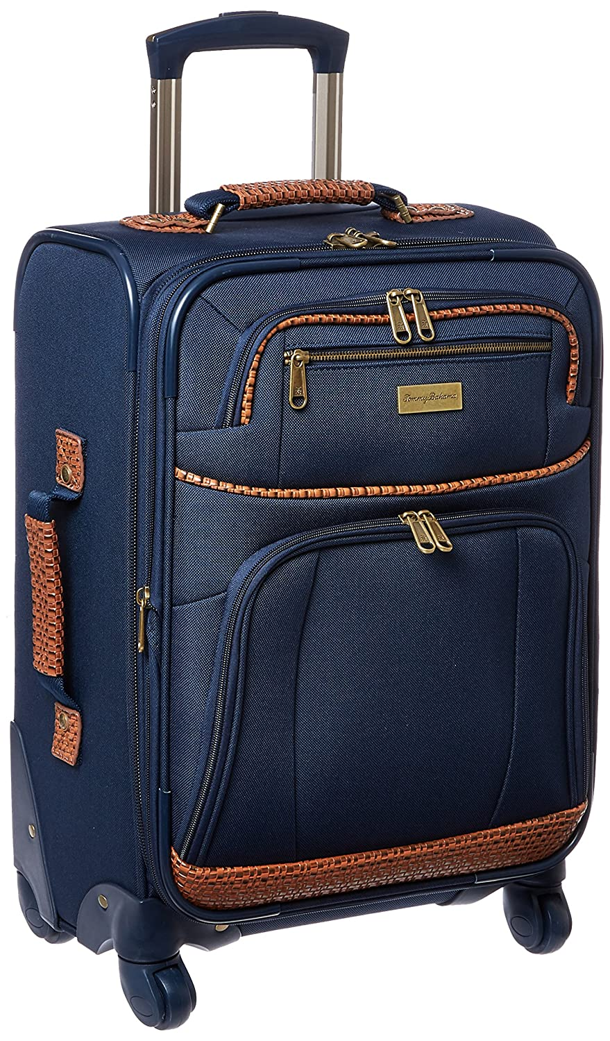 Image of Luggage Tommy Bahama Carry On Luggage - 20 Inch Lightweight Expandable Rolling Spinner Luggage with Wheels Travel Suitcase