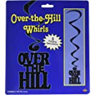 Amazon.com: Over the Hill Banner, Gold Gliter Birthday