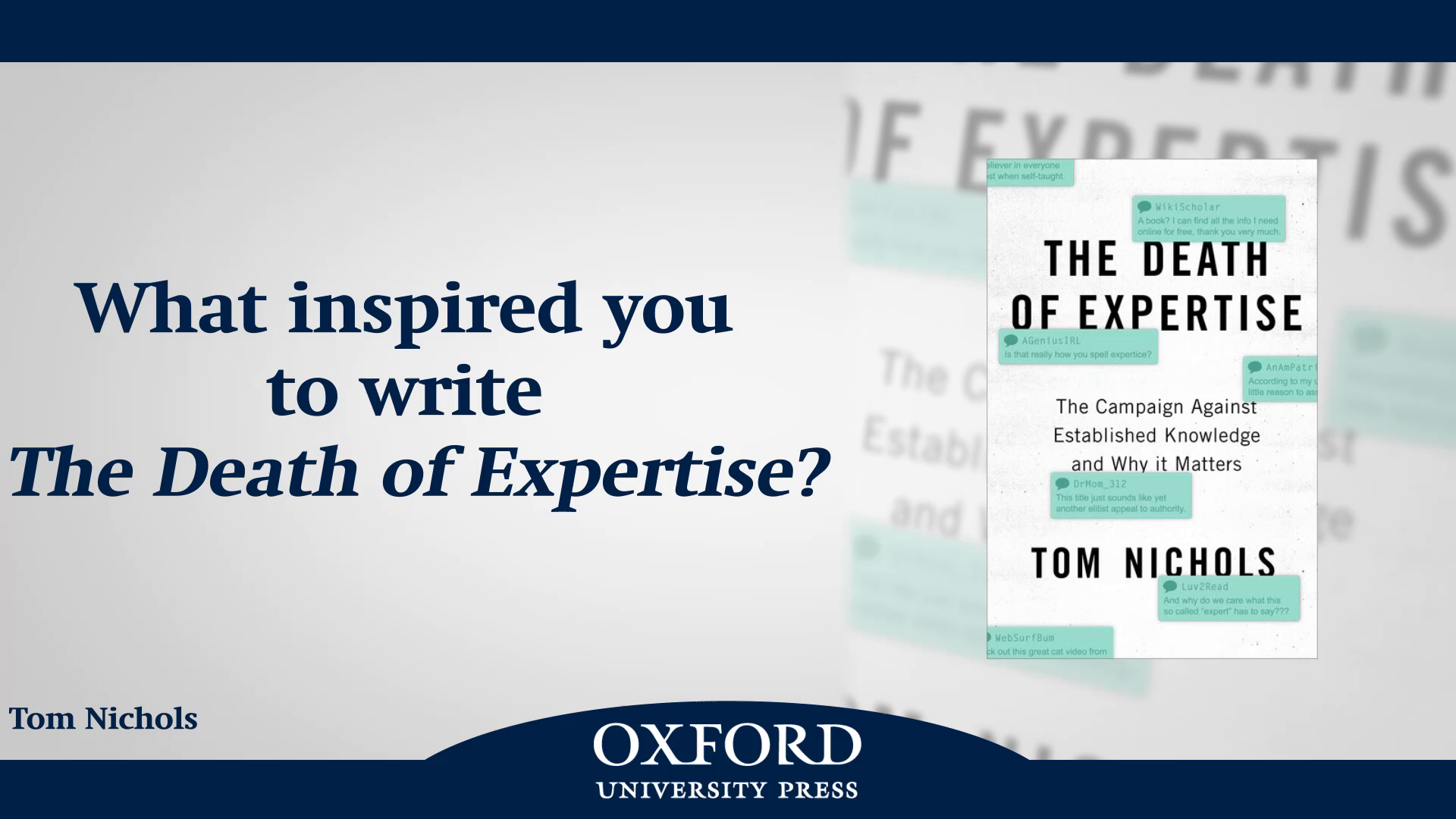 Amazon.com: The Death of Expertise: The Campaign against Established ...