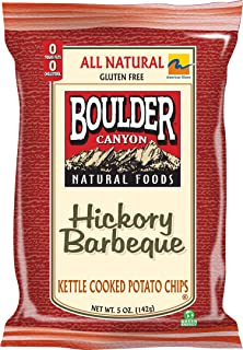 product image for Boulder Canyon Kettle Chips, Hickory BBQ, 5-Ounce Bags (Pack of 12)