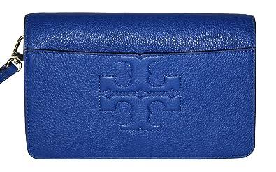 d8c3b8b58a88 Amazon.com: Tory Burch Bombe T Logo Small Leather Cross Body Bag ...