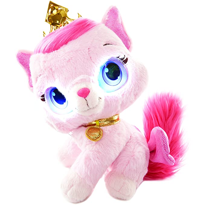 Amazon.com: Disney Princess Palace Pets Bright Eyes Feature Plush Toy: Toys & Games