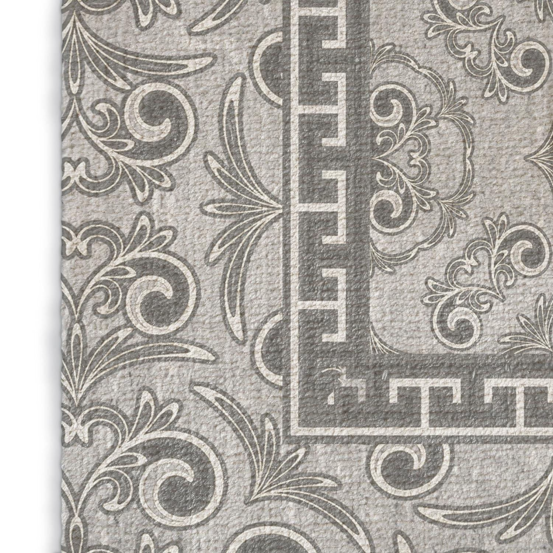 - PARISIAN Collection RUG-RUG35-3X5-TEL1423 Grey KAVKA Designs Bilbao Area Rug, Size: 3x5x.5 - TELAVC1423RUG35