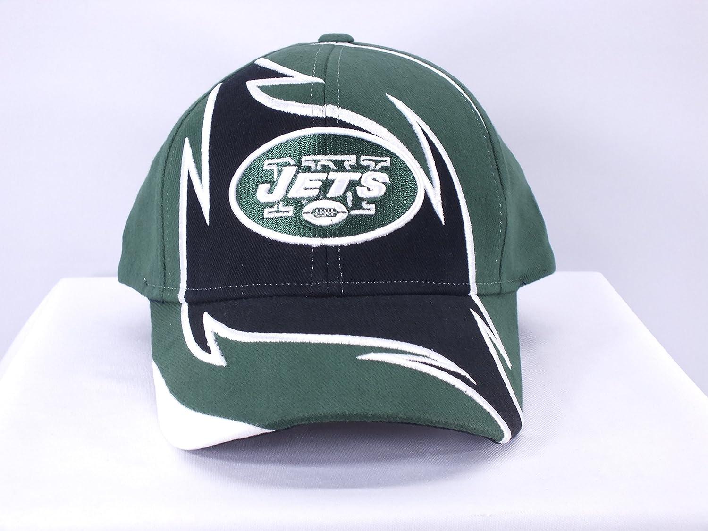 New York Jetsすべてグリーン/ホワイトNFL Adj。ベルクロストラップキャップbyリーボック( d53 )   B0115IRP2G