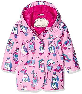 Hatley Raincoat-Happy Owls, Impermeable para Niños, Rosa, 6 años: Amazon.es: Ropa y accesorios