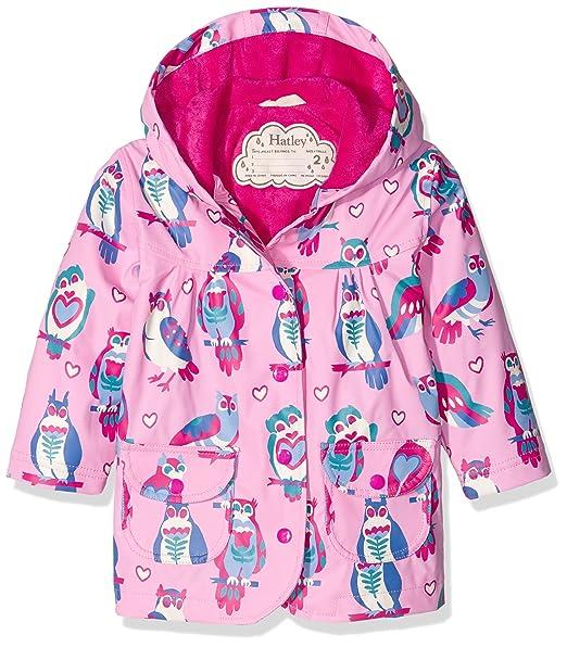 Hatley Raincoat-Happy Owls, Impermeable para Niños, Rosa 6 años: Amazon.es: Ropa y accesorios