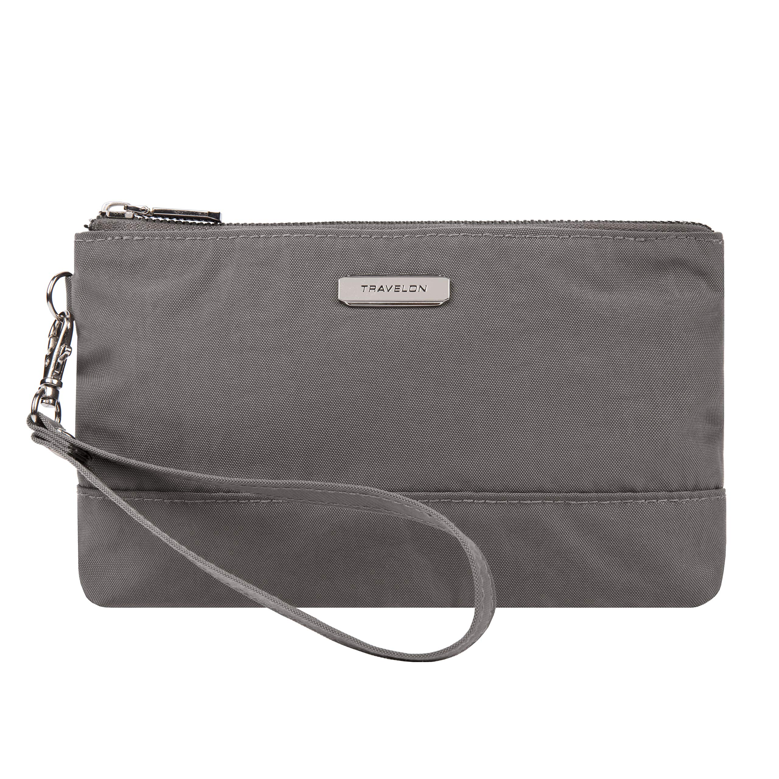 Travelon RFID Blocking Wristlet Clutch, Smoke by Travelon