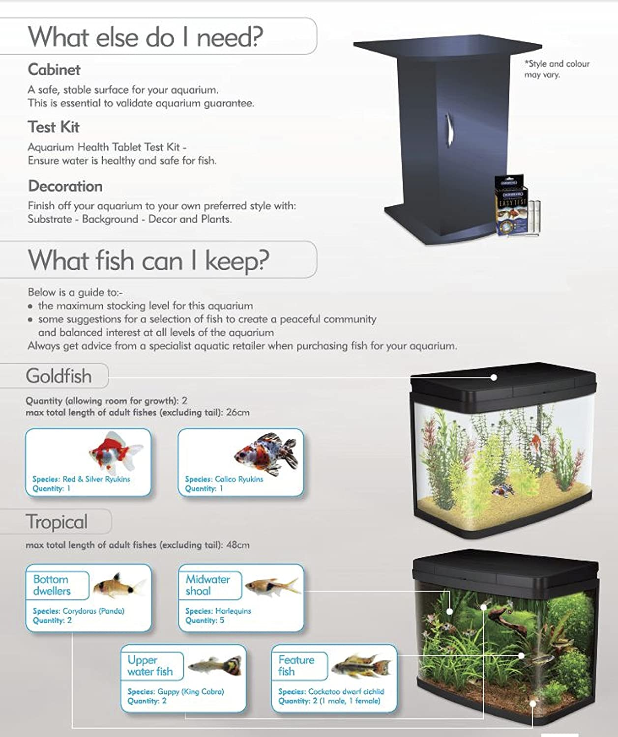 Freshwater aquarium fish bottom dwellers - Interpet Insight Glass Aquarium Fish Tank Premium Kit 40 Litre Amazon Co Uk Pet Supplies