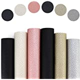 Raylynn Essentials 6 Pieces Pebbled Faux Leather Sheets for Earrings,(A4) 8.25 x 11.8 inch, Metallic, Pearlized, Lychee…