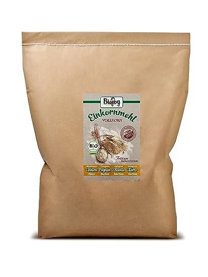 Harina integral de escanda BÍO | cultivo bío controlado | molida cuidadosamente en molino | bajo