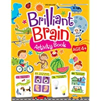 Brilliant Brain Activity Book 4+