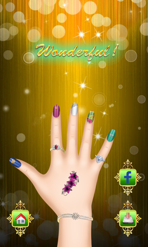 Amazon Princess Nail Art Salon Manicure Game For Girls Free