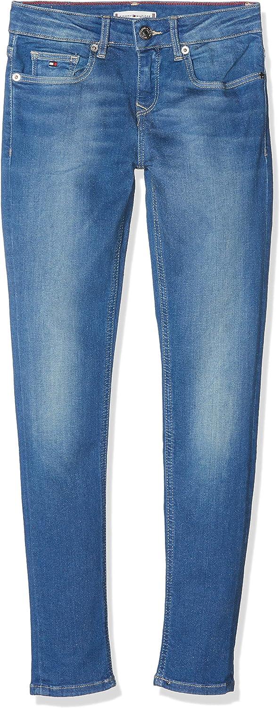 Tommy Hilfiger M/ädchen Nora Rr Skinny Jobbst Jeans