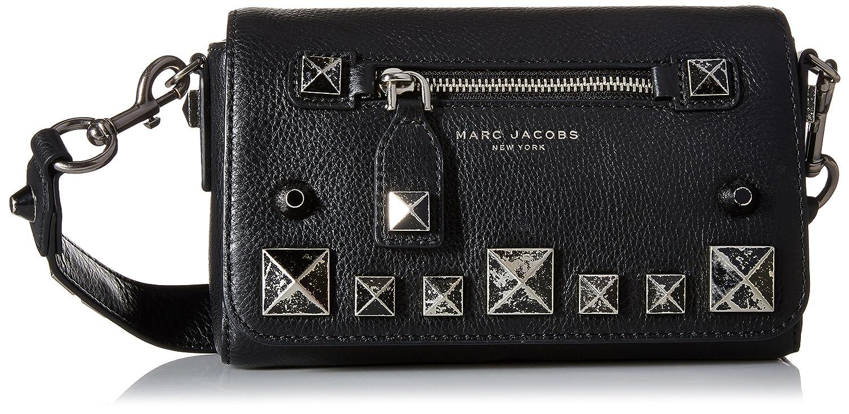 Amazon.com  Marc Jacobs Recruit Chipped Studs Crossbody Bag 903199402bf05