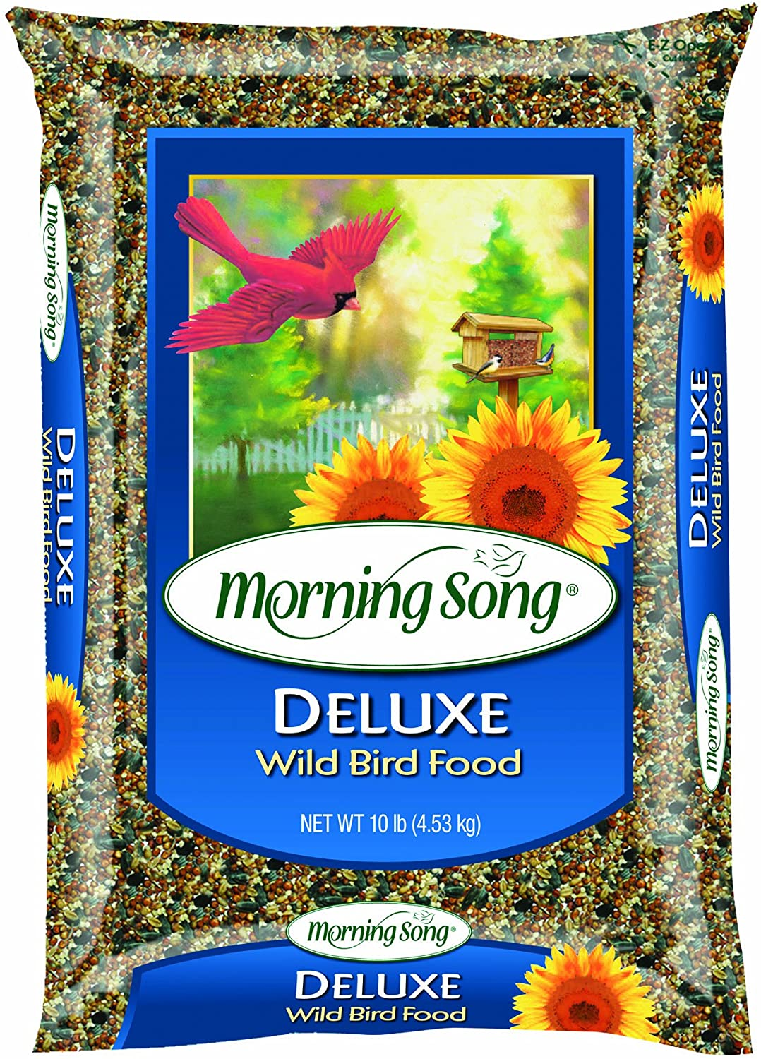 Morning Song 1022046 Deluxe Wild Bird Food Bag, 20-Pound