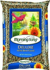 Morning Song 1022046 Deluxe Wild Bird Food Bag, 20-Pound