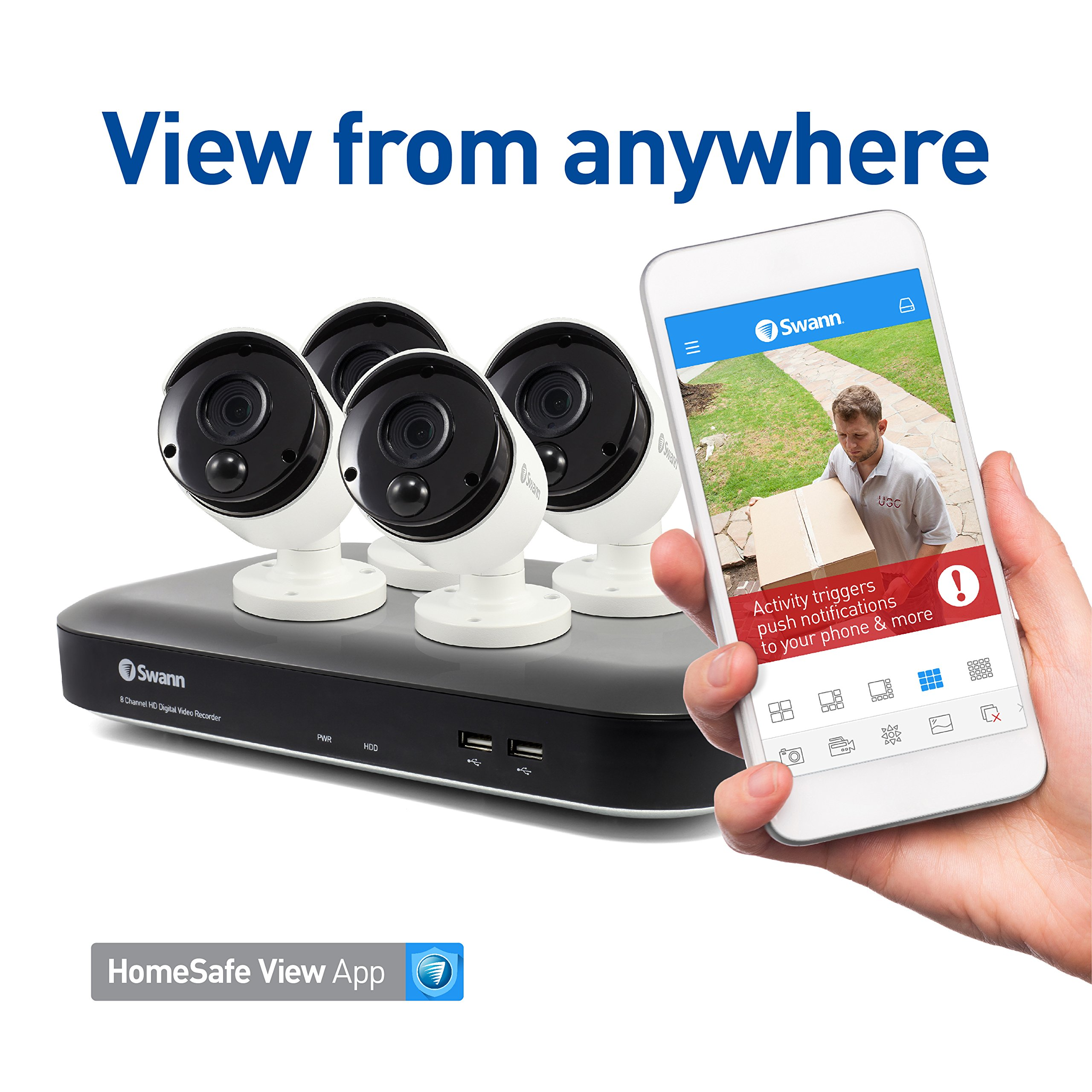 Amazon com: Swann: 5MP Security System