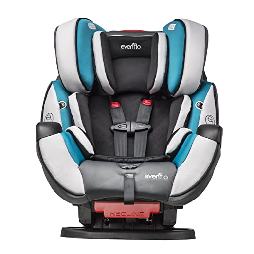 Amazon Evenflo Symphony DLX All In One Convertible Car Seat Modesto Baby