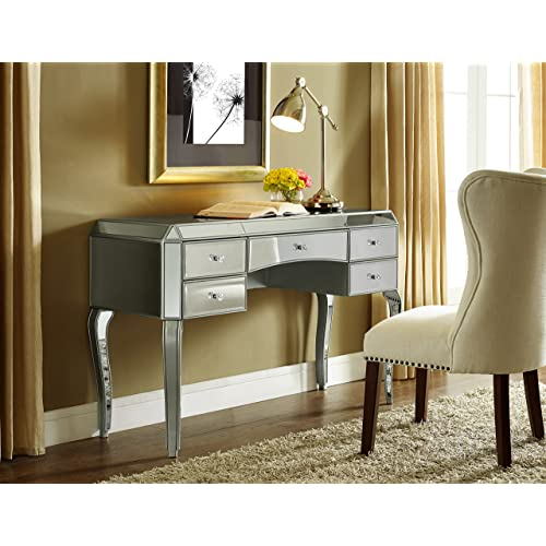 Mirrored Desk Amazon Com
