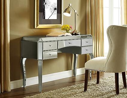 Captivating Pulaski Marie Mirrored Desk