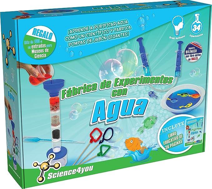 Science4you - Fábrica de experimentos com Agua, Juguete Educativo y científico (600232): Amazon.es: Juguetes y juegos