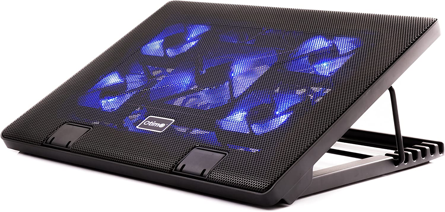 Gembird NBS-2F17-01 17 Black notebook cooling pad 2 pc 17 s 43.2 cm notebook cooling pads , 8 cm, 1500 RPM, 21 cfm, 0-5/°