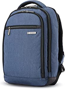Samsonite Modern Utility Mini Laptop Backpack, Blue Chambray, One Size