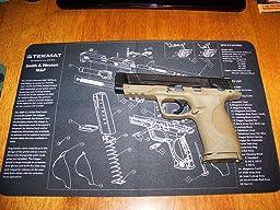 Amazon Com Tekmat 11 Inch X 17 Inch Handgun Cleaning Mat
