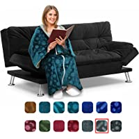 Cōzee Deluxe Wearable Blanket for Adults - Elegant, Cozy, Extra Soft Plush Throw Blanket - Ideal for Elderly & Handicap Clothing, Wheelchairs, or Watching TV