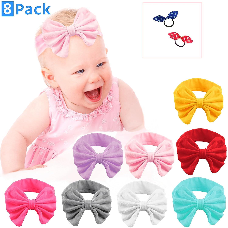 baby girl bows and  headband baby girl gift Baby headband baby girl headband set baby hair accessories toddler headband bow hair bands