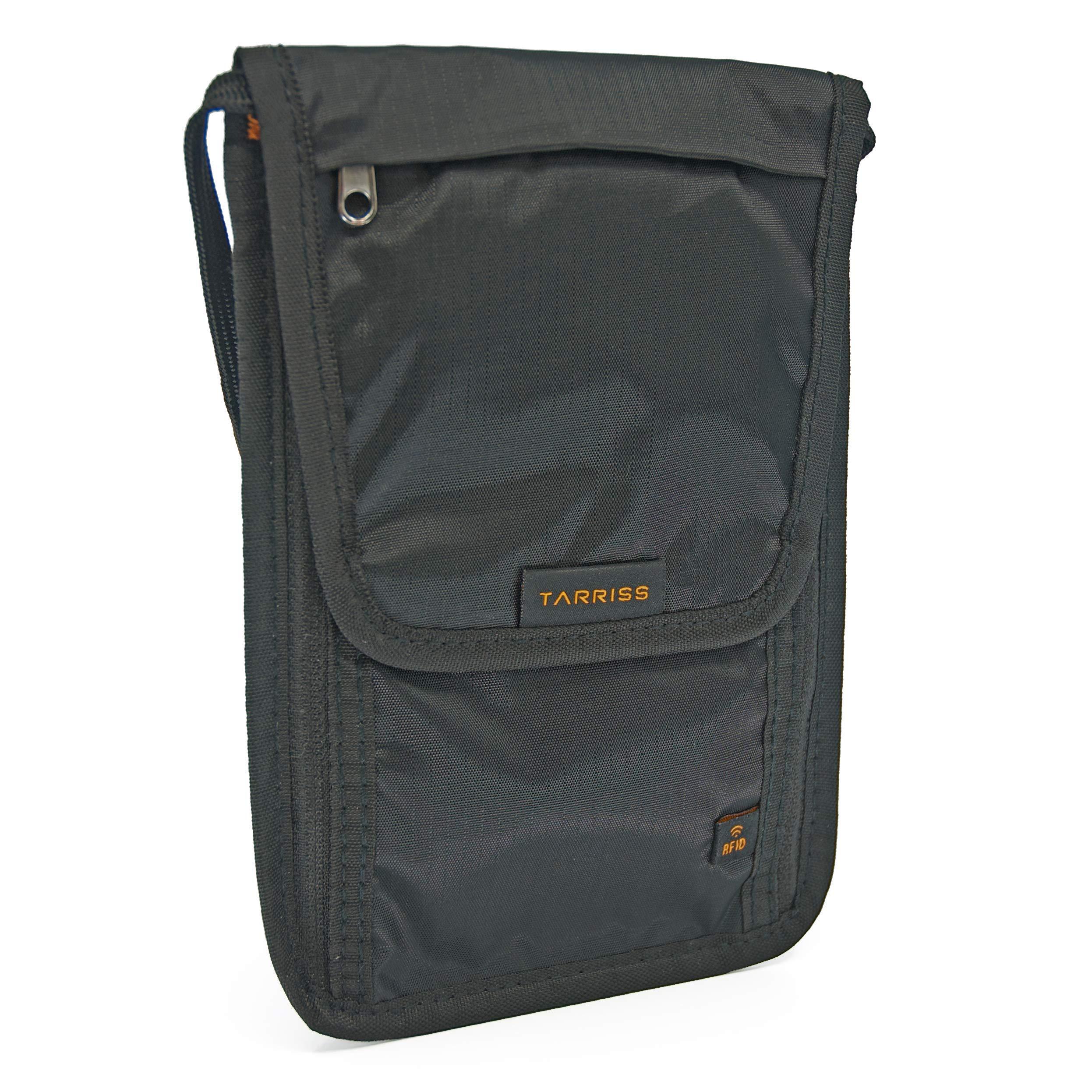 Tarriss Travel Gear RFID Passport Holder & Neck Wallet/Neck Stash product  image