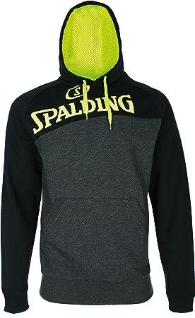 Spalding Street Sudadera con Capucha de Baloncesto, Hombre ...