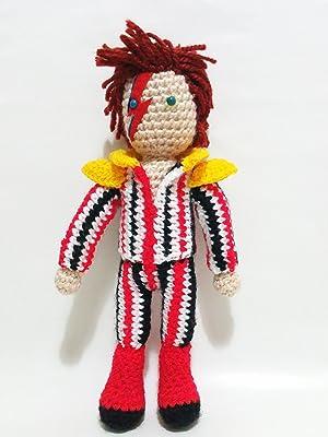David Bowie ziggy stardust doll