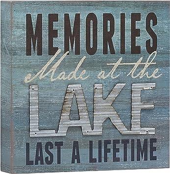 Amazon.com: Recuerdos en el lago durar toda una vida caja ...
