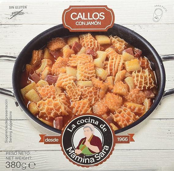 La cocina de Mamina Sara Callos con Jamón - 380 gr - [Pack de 4